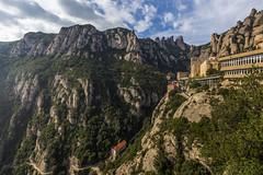 Montserrat (kike.matas) Tags: canoneos6d kikematas canonef1635f28liiusm montserrat espaa montaa monasterio nubes funicular paisaje canon lightroom4