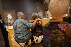 Meaningful Moments, 2016.11 (Center for Creative Connections) Tags: access dallasmuseumofart dma alzheimers memory art artmaking gallery creativity fun divine felines cats egypt