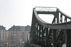 Frankfurt Bridge (chearn73) Tags: frankfurt bridge germany travel steel city urban