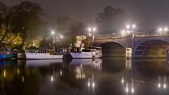 River Thames at Kingston (Colin_Evans) Tags: kingston dawn daybreak thames riverthames morning night bridge boats kingstonuponthames kingstononthames surrey uk england london