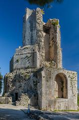 Nmes La tour Magne-0222 (philippemurtas) Tags: tour magne monument galloromain vestige nmes gard mont cavalie ciel couleur nikon tower galloroman sky color