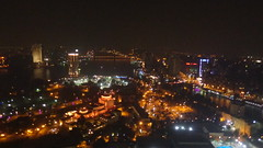 Cairo by Night (Rckr88) Tags: cairo by night cairobynight view from atop tower egypt travel africa nights city cities light lights skyline sky skyscrapers skyscraper nile nileriver river rivers