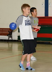 TRC 113016 013 (Tolland Recreation) Tags: boys girls kids children youth tweens sports dodgeball recreation fitness exercise game contest competition balls throwing tolland connecticut