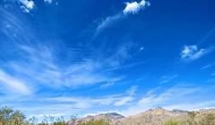 Jacob's Ladder in Today's Clouds (Chic Bee) Tags: naturewalk sabinocanyon tucson arizona southwesternusa americansouthwest