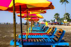 Resting (arifmahamood) Tags: sea beach water boat chair umbrella shade canon 6d 24mm105mm 25105 sky blue sand