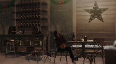 Just getting a head start on the weekend (Alexa M.) Tags: exxess {reverie} tannenbaumholidaymarket2016 vinyl uber purepoison shutterfield decorjunction onedecor draftsman hive thearcade tarte jian mushilu chicbuildings secondlife decor indoors evening wine girl female hair