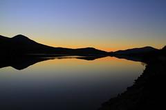Loch a chuilinn - Scottish Highlands (Ally.Kemp) Tags: loch chuilinn rossshire reflections scottish sunset scotland highland landscape sky
