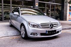 Mercedes-Benz C 350 Avantgarde - (C204) - 272 c.v - Plata Iridio - Piel Marrón Teja