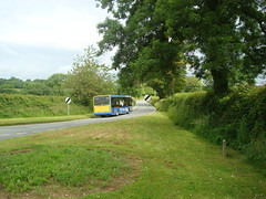 TrawsCambria in Little England (Rhydgaled) Tags: bus pembrokeshire tempo optare richardsbros yj55bjk