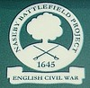 Naseby Battlefield Project logo (eucharisto deo) Tags: sign war king oliver parliament charles battle civil cavalier cromwell roundhead naseby 1645 royalist i