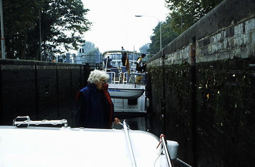 Hausboottour (84) Barkower Schleuse