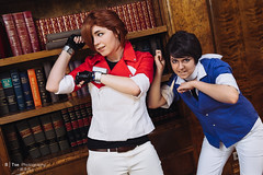 Matt Engarde & Juan Corrida (btsephoto) Tags: portrait game anime project matt lens 1 dallas costume video texas fuji play juan cosplay iii flash ace nintendo hilton x r convention pro fujifilm 1855mm lm fujinon corrida attorney akon anatole コスプレ xf ois engarde 逆転裁判 f284 xpro1 yongnuo yn560