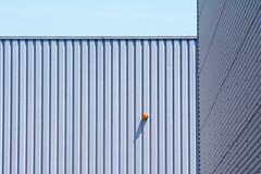 Orange lamp (Jan van der Wolf) Tags: light shadow orange abstract geometric lamp lines wall architecture composition geometry perspective minimalism simple schaduw minimalistic less architectuur oranje muur lijnen geometrie lessismore geometrisch minimalisme simpel perspectief compositie map142104v