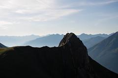 morning sun over the alps (Urban-Outdoor Photography) Tags: road summer sun mountains alps austria pentax hiking adventure alpen wandern klettern 2015 yetis lechtaleralpen pentaxk5ii leonbuchholz