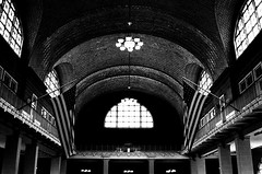 Ellis Island 07092015 (Orange Barn) Tags: newyorkcity windows architecture bricks arches ellisisland