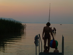 "Lake Balaton, twilight <a style=""margin-left:10px; font-size:0.8em;"" href=""http://www.flickr.com/photos/7247047@N03/20984981018/"" target=""_blank"">@flickr</a>"