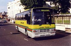 London&Country-SR88-E88OJT-Brighton-190797b (Michael Wadman) Tags: brighton londoncountry leylandtiger shamrockrambler e88ojt