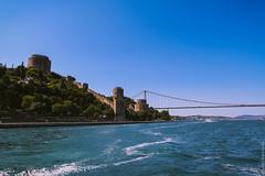Крепость Румелихисар и второй Босфорский мост