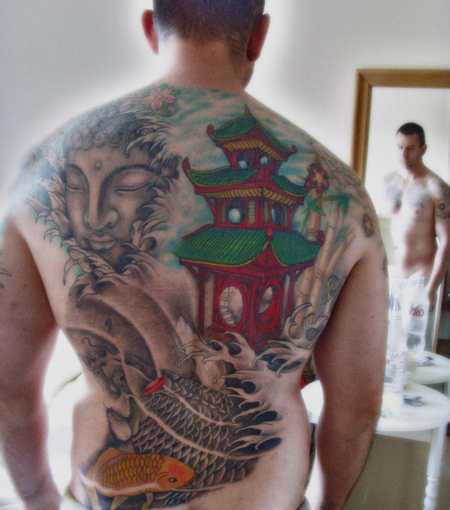 The world 39 s best photos of ink and koi flickr hive mind for Tattoo shops in plano