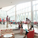 Students use the new Talley student union.