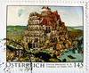 great stamp Austria 145c Tower of Babel (painting by Pieter Bruegel the Elder; Turmbau zu Babel; Torre de Babel; Tour de Babel; Torre di Babele; מגדל בבל; 巴別塔; Вавилонская башня; Πύργος της Βαβέλ; Toren van Babel; Bábel tornya; Babil Kulesi; برج بابل) (stampolina, thx for sending stamps! :)) Tags: color colour tower history postes painting colorful torre stamps religion stamp turm postzegel babel selo bolli oldtestament sello sellos towerofbabel briefmarken frimärken briefmarke pieterbruegel 邮票 francobollo selos torredibabele timbres frimærker torenvanbabel марки francobolli bollo 切手 pieterbrueghel zegels 우표 turmbauzubabel zegel znaczki pieterbruegeltheelder hebrewbible スタンプ tourdebabel frimerker torredebabel bábeltornya מגדלבבל طوابع 巴別塔 برجبابل แสตมป์ вавилонскаябашня γραμματόσημα babilkulesi bélyegek टिकटों razítka πύργοστησβαβέλ