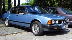 BMW E23 (vwcorrado89) Tags: 7 bmw series bbs 7er reihe mahle e23 bracq