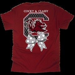 Cocky & Classy (Eat More Tees) Tags: black college football south bowtie cock cocky polkadots carolina usc classy garnet gamecock collegefootball universityofsouthcarolina eatmoretees cockyclassy