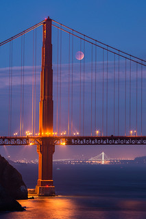 Eclipsed by the Bridge | San Francisco