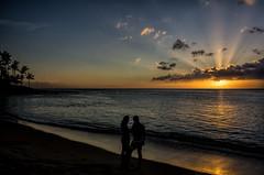 Love @ dusk (<e.cel8>) Tags: hawaii maui napili napilibay napilibeach
