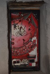 Valloria (074) (Pier Romano) Tags: doors painted liguria porte imperia artisti dipinte valloria dolcedo