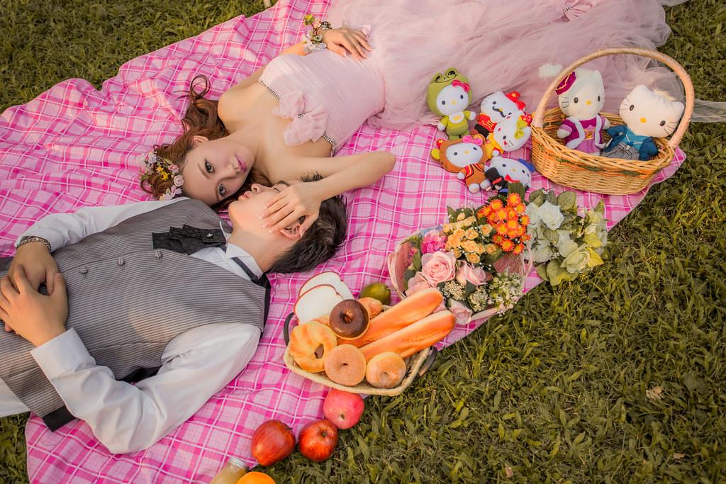 橘子白 阿睿,Vicky婉如,Fantasia梵塔莎手工禮服,陽明山19號咖啡,小白宮,野餐風,旋轉木馬