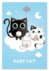 Baby Cat (mkt4) Tags: baby cat chat kitty kawaii animaux fairepart naissance bb mkt4