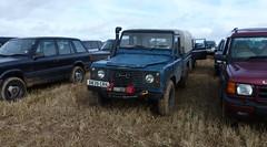 Land Rover Defender (K Garrett) Tags: wet truck mud diesel 110 pickup rover land muck defender conditions lwb landroverdefender hicap