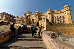 (Hartfried Schmid) Tags: india amber fort jaipur rajasthan amberfort