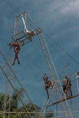 Nino Rocha Fotografia (nino rocha fotografia) Tags: azul circo osasco cu escola fotografia picadeiro trapzio trapezista ninorocha