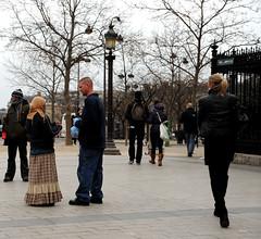 Champs-Élysées (carolemason) Tags: people paris begging champsélysées