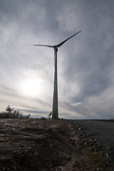 Windmill-2 (flashpoint-70) Tags: sky wind farm blade turbine sustainable renewableenergy greenpower cleanenergy