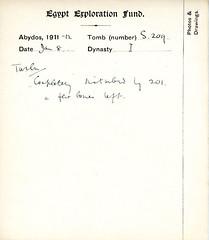 AB.TC.S.209 (The Egypt Exploration Society) Tags: archaeology egypt abydos egyptexplorationsociety eesarchive