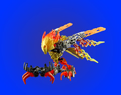 Ikir (dviddy) Tags: bird phoenix fire lego bionicle trap pheonix constraction bzp birb ccbs bzpower deevee constractionfigure ikir dviddy bionicle2016