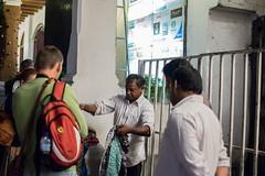 Night Street Vender (Aadil Chouji Schiffer) Tags: street city people streets shop night center sri lanka busy srilanka potrait selling kandy srilankan vender kcc streetvender cloaths