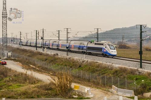 SNCF TGV 29700 en Montcada