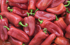 Red peppers, full frame (RaleBelic) Tags: pepper market closeup heap nobody agriculture largegroupofobjects mexicancuisine colorimage farm marketstall streetmarket macro anaheimpepper arrangement healthyeating vegetarianfood chillipowder lowcarbdiet redchilipepper fullframe food veganfood groupofobjects photography cultivar ripe spice red organic chilipepper farmersmarket crop stack foodanddrink dieting vegetable chiliepeppers plant backgrounds groceries ingredient fruit heat freshness