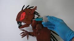The Chupacabra (Mr. Cab) Tags: lego moc mocolympics creature chupacabra baby foitsop hand syringe