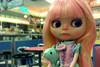Rosita (Motor City Dolly) Tags: cute blythe mint pink custom doll pouty customized ice cream motor city dolly ooak