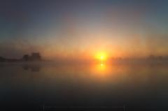 Morning at the lake (Mirek Pruchnicki) Tags: radymno zek fog lake landscape misty morning outdor scenery softlight summer sun sunrise water wojewã³dztwopodkarpackie polska