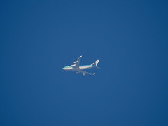 KLM Boeing 747 (Leedseagle5) Tags: contrail vapour trail garrowby hill yorkshire nikon coolpix p900 leeds lufthansa star alliance easyjet klm airbus skywatcher slyliner dobsonian 200p 8 boeing 737 747 757 767 e3 sentry awacs volga dnepr ilyushin76td emarites delta atlantic airways american airlines a330 voyager kc3 a380