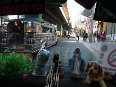 Manila traffic, in Taft Avenue (omnia2070) Tags: philippines manila taft avenue traffic road street overpass jeepney passenger pedestrian busy metro train elevated