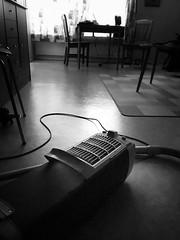 (Peter Tynkkynen) Tags: electrolux100 electrolux light window home blackandwhite vacuumcleaner cord floor
