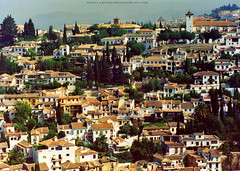 Granada, Spain. (Infinity & Beyond Photography) Tags: granada spain town city homes houses residences buildings hillside cityscape