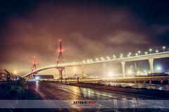 Quien dice que los das de lluvia no tienen encanto? Puente de la Pepa (Cdiz) (Antonio Lpez Fotografa) Tags: cadiz espaa andalucia puente de la pepa antonio lopez nocturna paisajes landscape